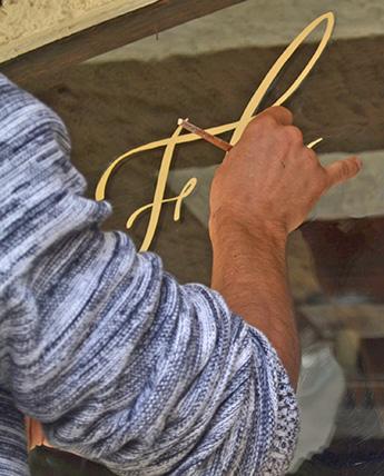 sign'en décors peintre en lettres rennes bretagne paris